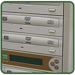 Blu-ray, DVD, and CD Duplicators